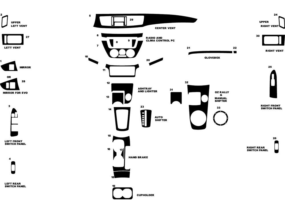 mitsubishi lancer 2002 enginepartment diagram