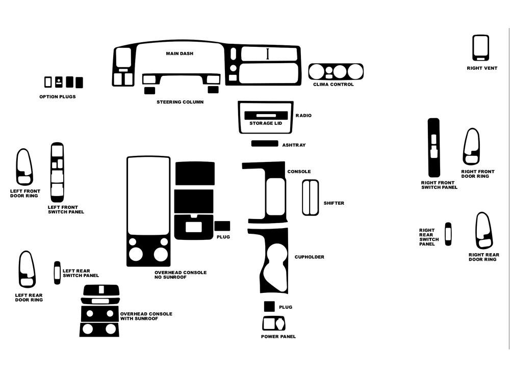 97 mitsubishi montero sport fuse box diagram