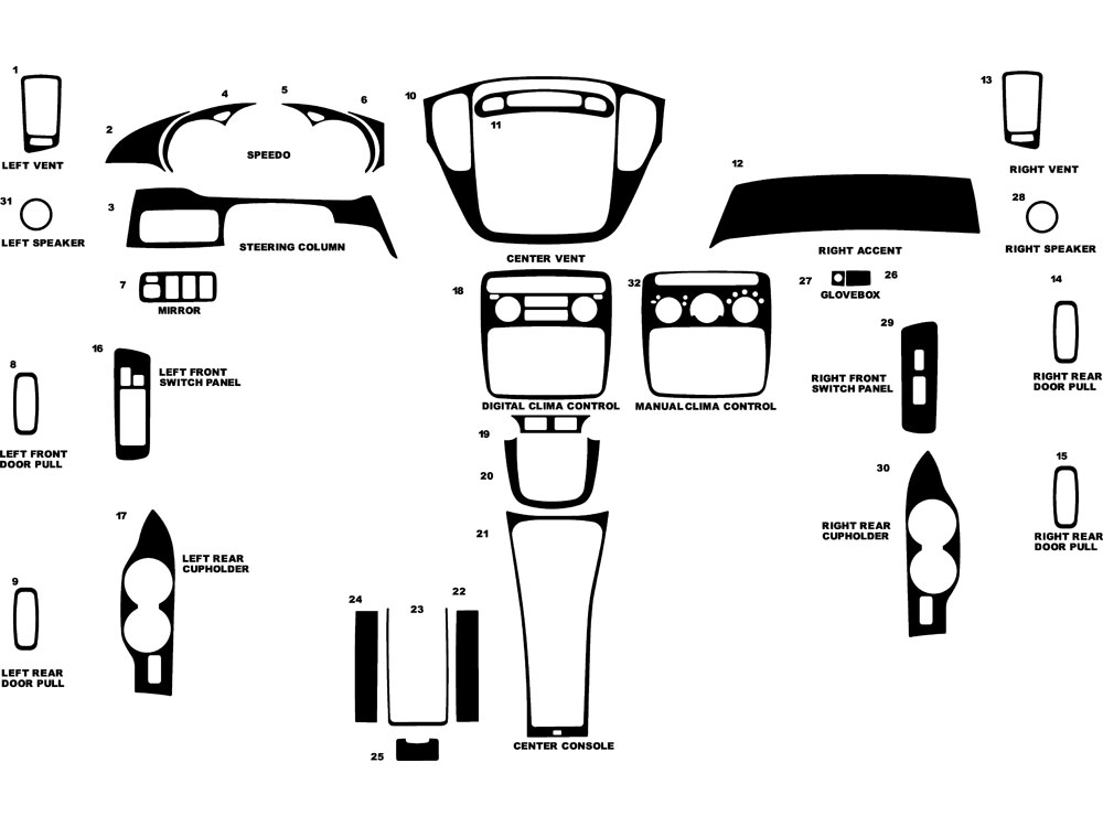 highlander parts diagram