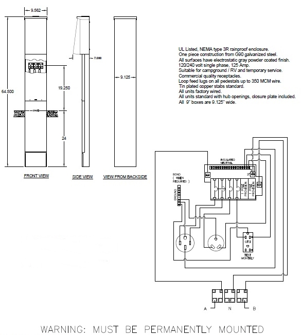 120 240 Volt Rv Wiring Diagram Wiring Diagram 2019
