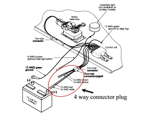 4 way plug diagram