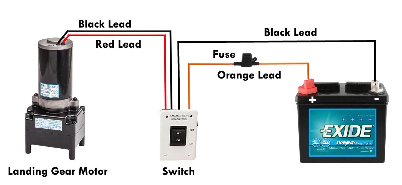 rv landing gear switch wiring diagram