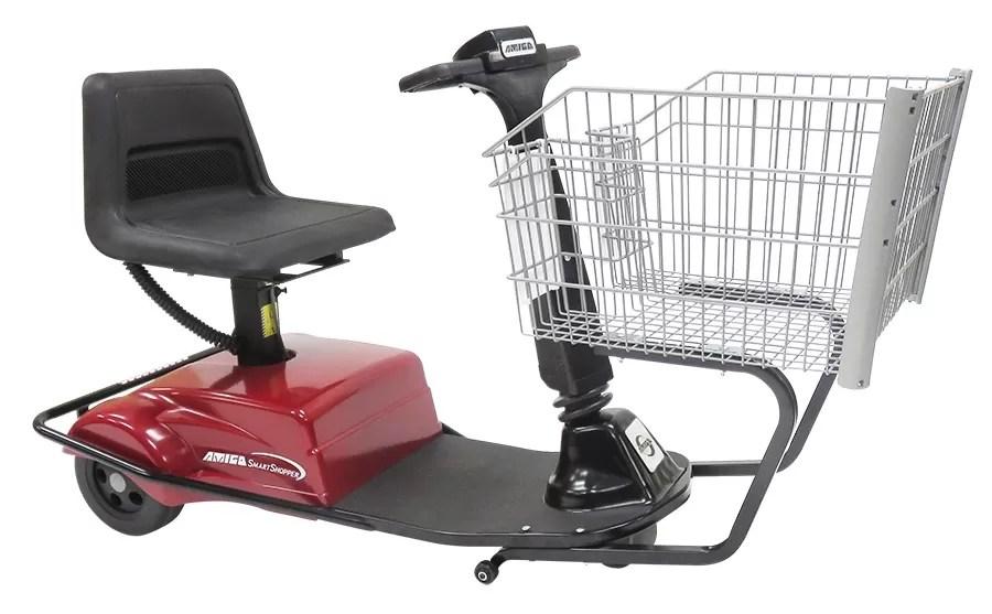 Motorized Handicap Shopping Carts, Motorized Grocery Cart - RW Rogers