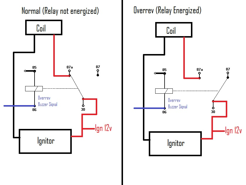 msd rev limiter wiring diagram