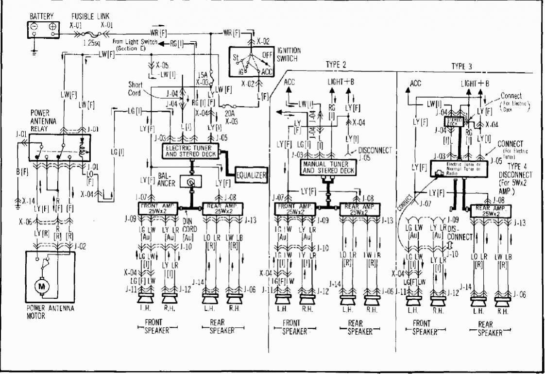 car audio wiring diagram with amp