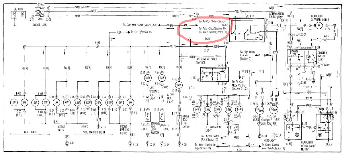video wiring help long with diagram