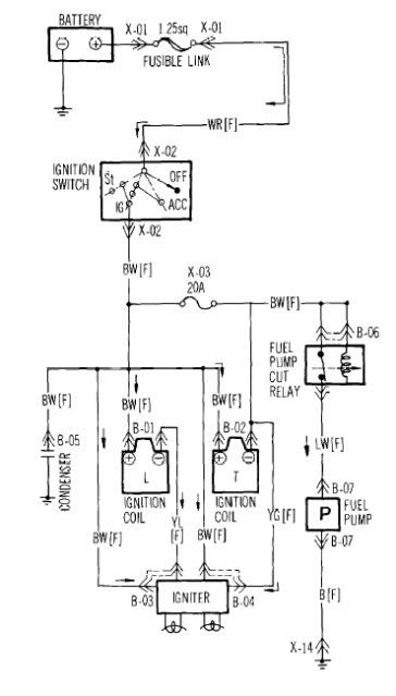 87 rx 7 plug wire diagram
