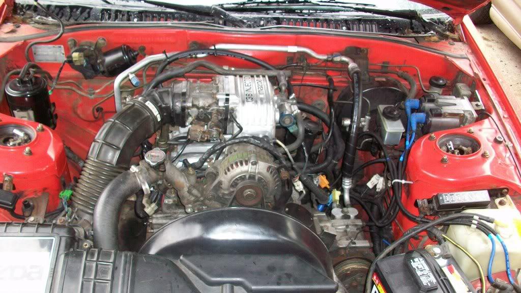 1987 rx7 engine bay diagram
