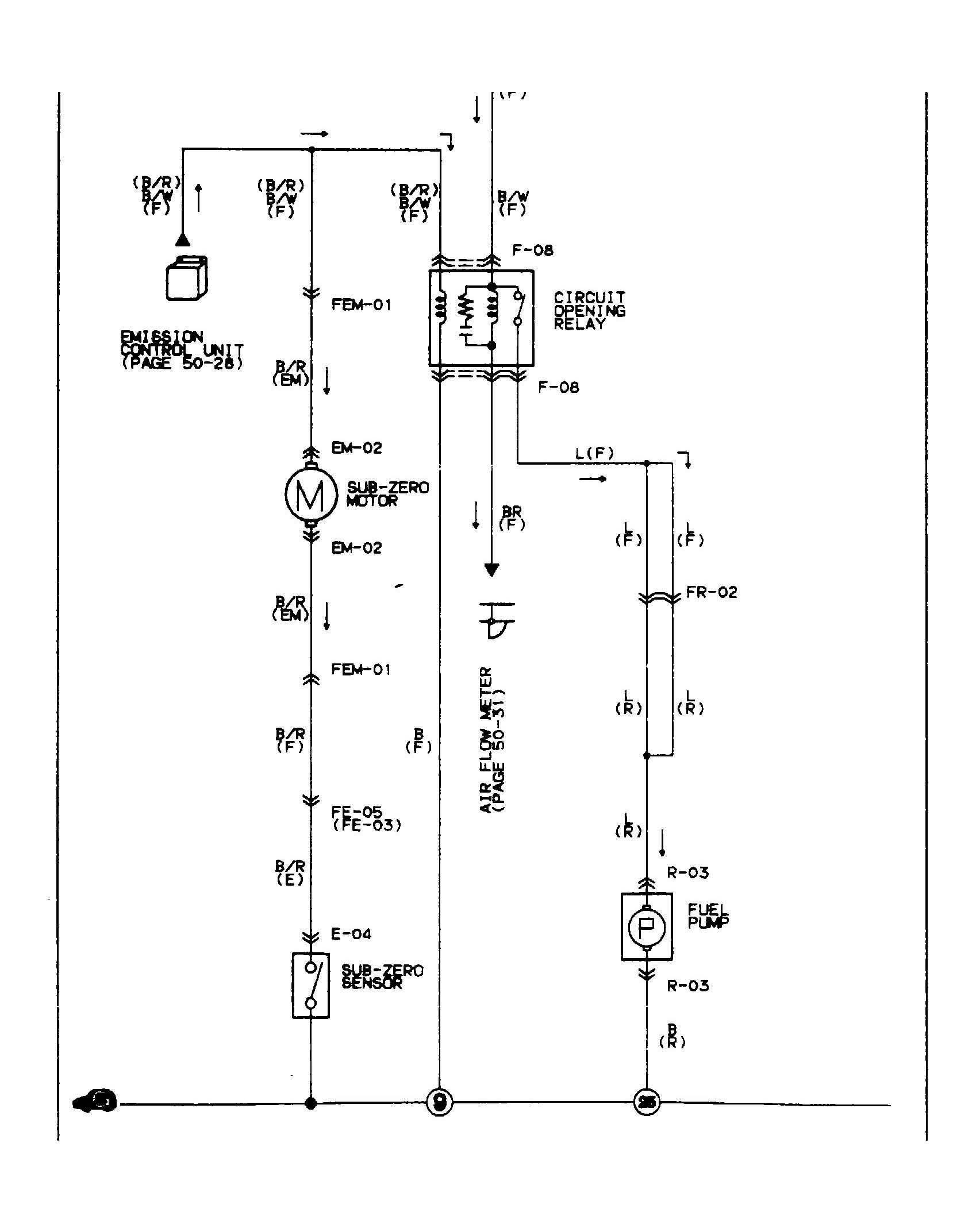 rx7 fuel pump wiring diagram