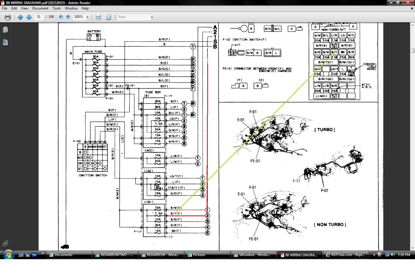 88 rx7 wiring diagram rx7club com
