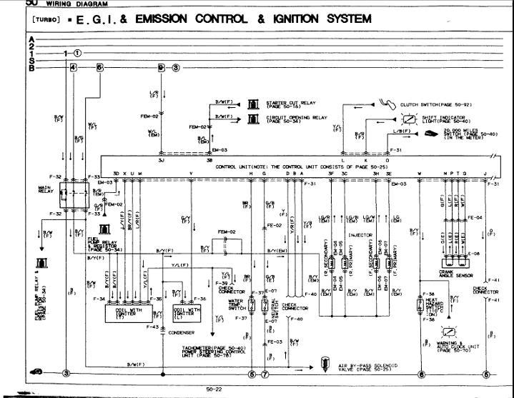 1990 Mazda Rx 7 Engine Diagram Wiring Diagram