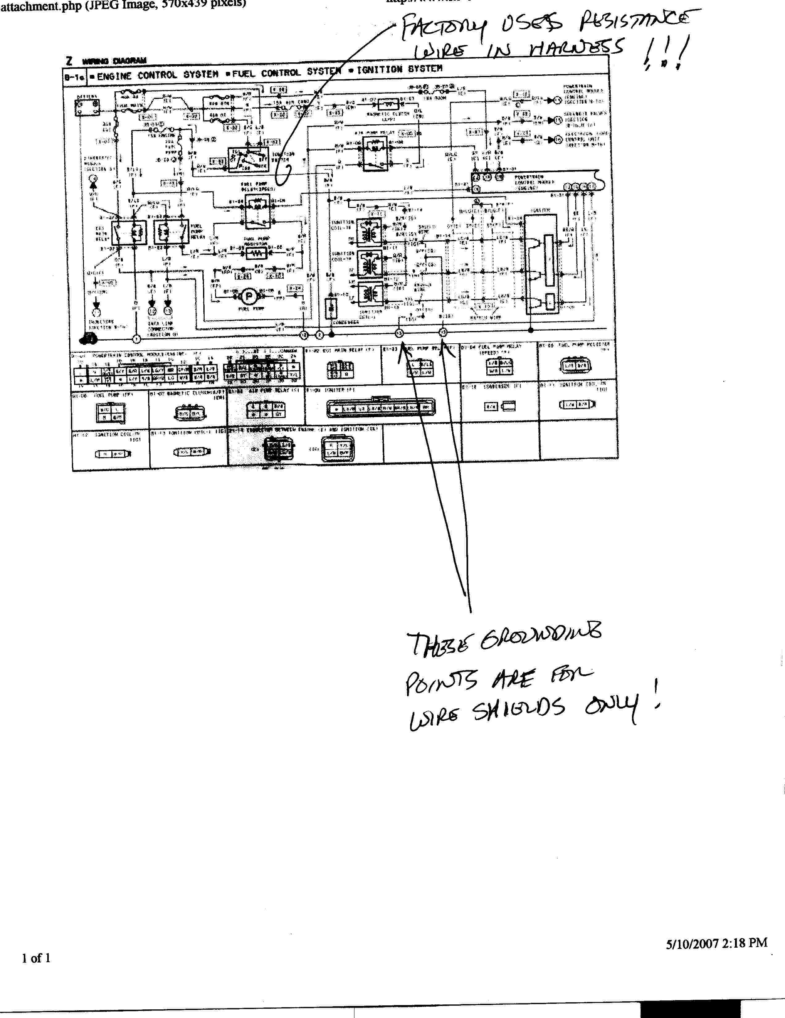 rx 7 ignition diagram