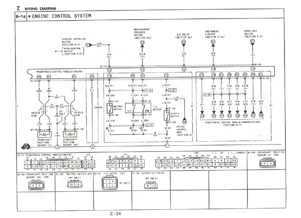 CAS to ECu wiring question - RX7Club - Mazda RX7 Forum
