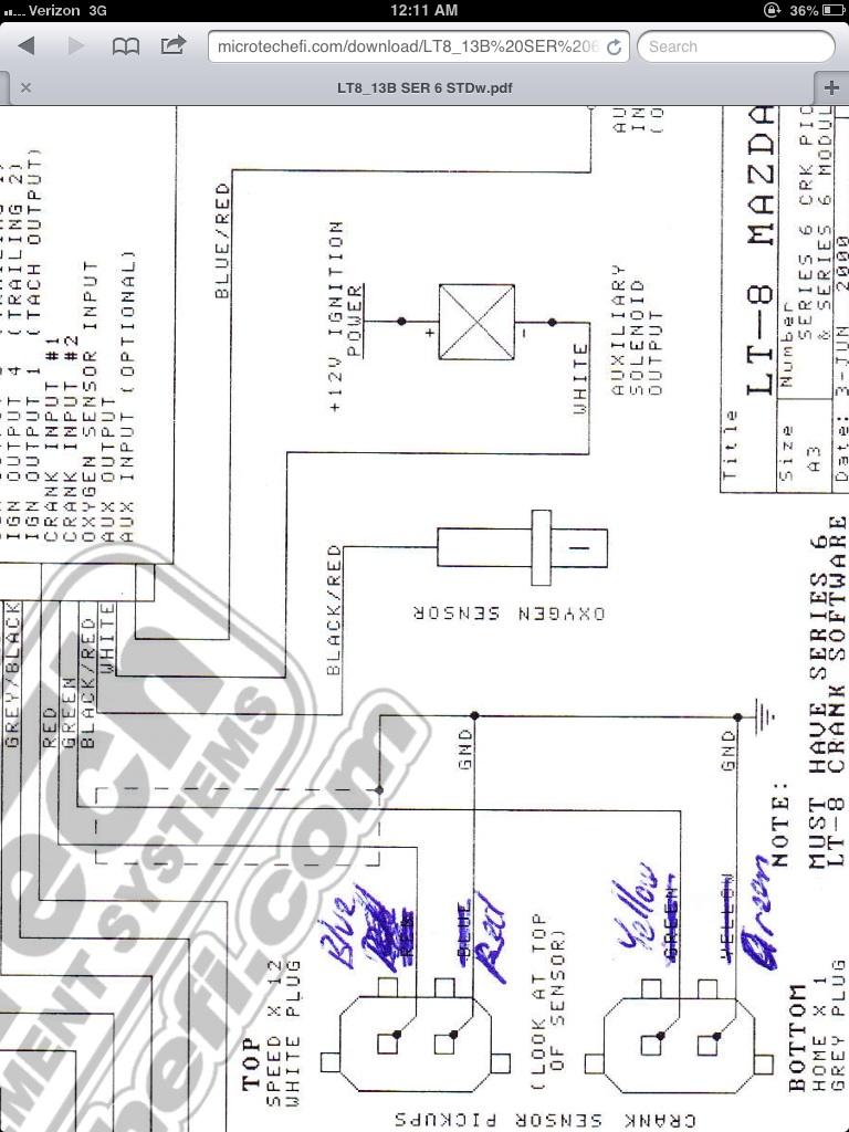 mazda rx7 fb wiring diagram