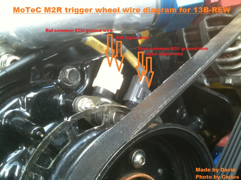 crank angle sensor (NE/G signal connectors) - RX7Club - Mazda