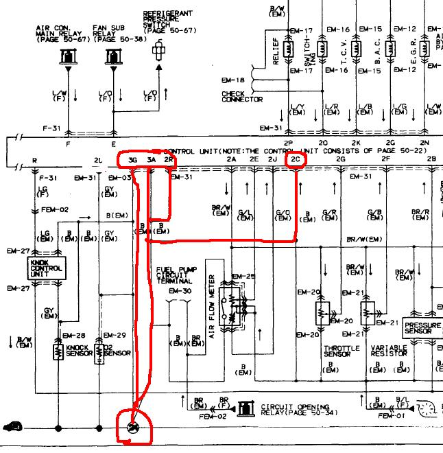 mazda rx7 series 1 wiring diagram