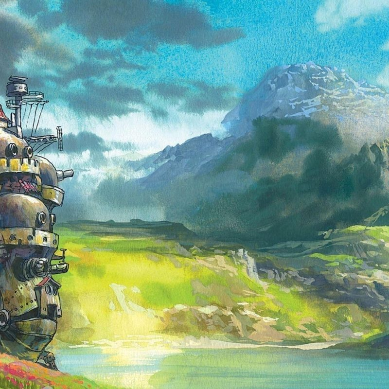 10 New Studio Ghibli Computer Backgrounds FULL HD 1920×1080 For PC
