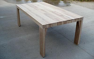 Ryan Brayak Architect Craftsman Furniture White Ash Dining Table