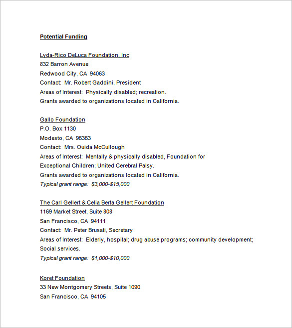 Unsolicited Proposal Template Major Project Sample 55+ Examples - informal proposal template