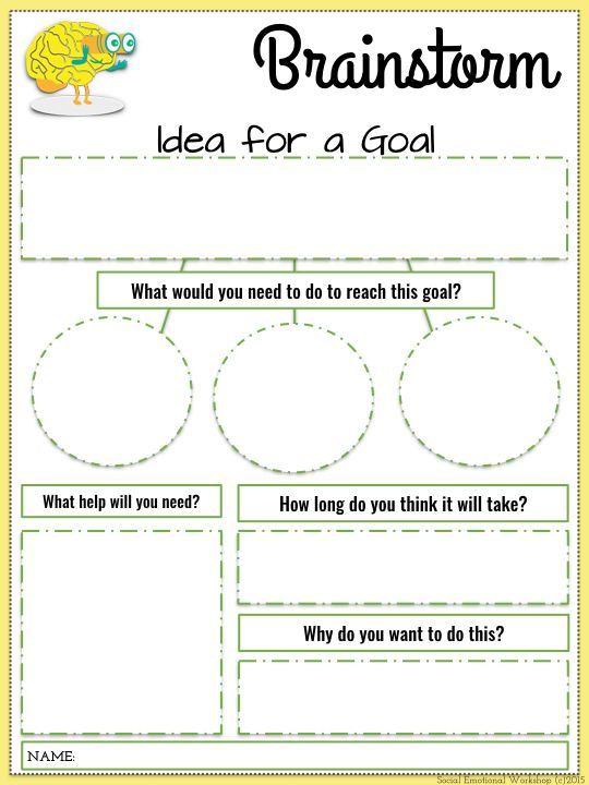 printable-word-doc-pdf-template-goals-worksheet-goal-setting - goal setting templates
