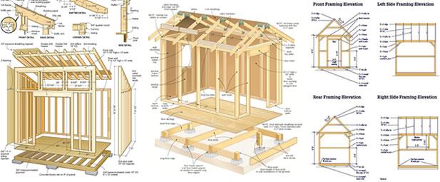 RyanShedPlans - 12,000 Shed Plans with Woodworking Designs - Shed - garden shed design