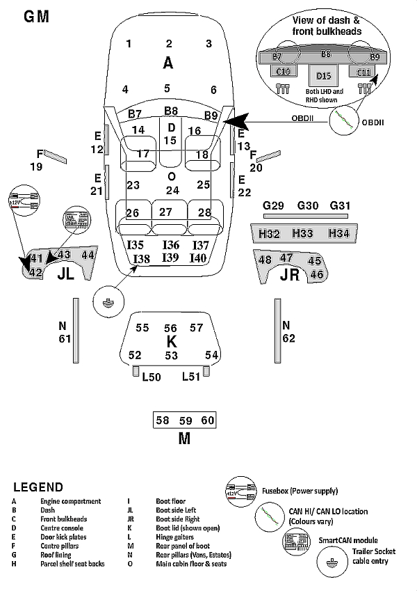 gm radio wiring diagram 12 pin