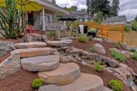 Stepping Stone Walkway Ideas - Ryno Lawn Care, LLC
