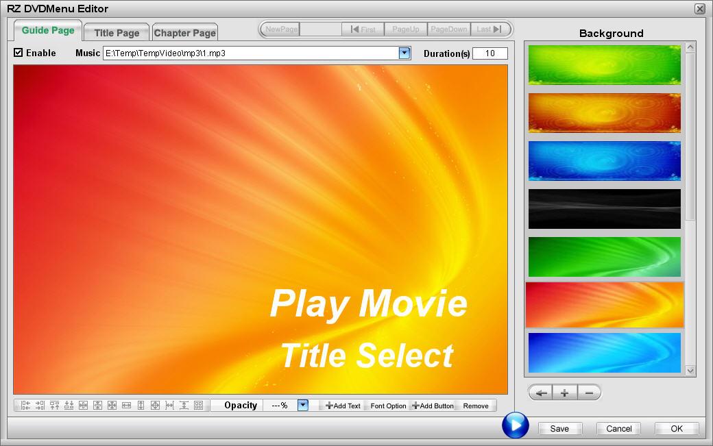 Compare RZ DVD Creator series software