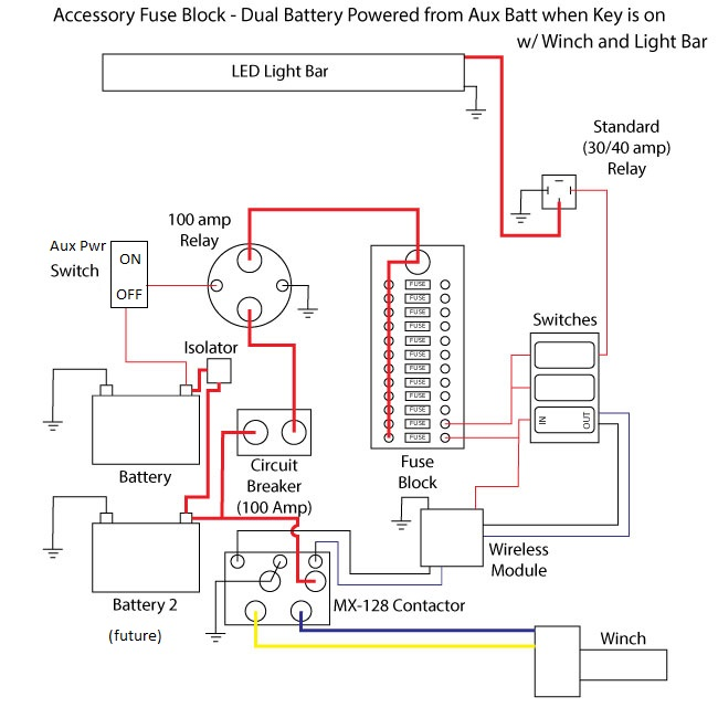 wiring diagram for acc