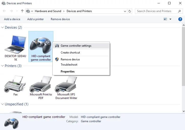windows 10 driver controller xbox
