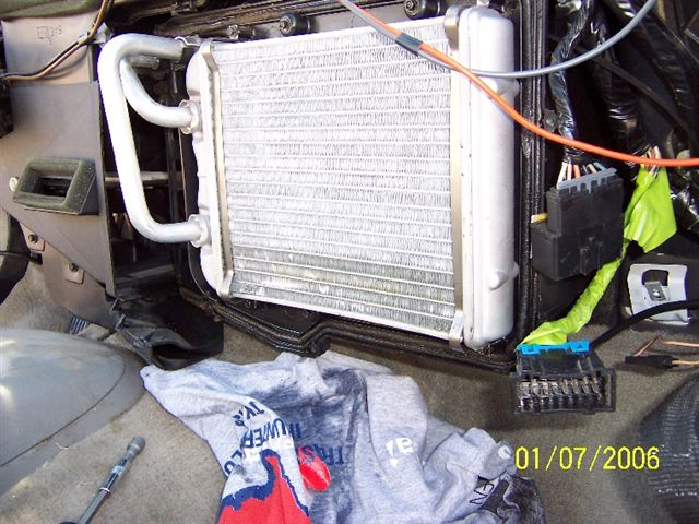 Heater Core Blow Up On 97 Blazer How To Remove Dashboard