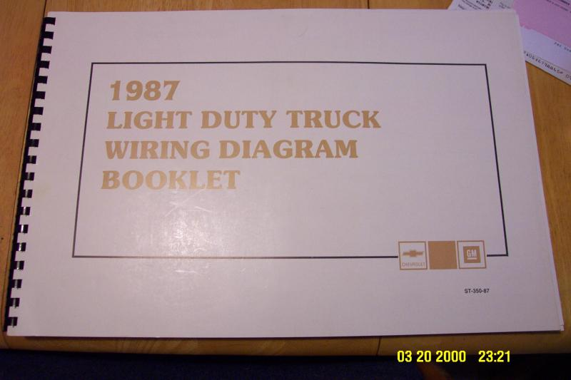 Wiring diagram for a 1986 chevy S10 4X4 pickup - S-10 Forum