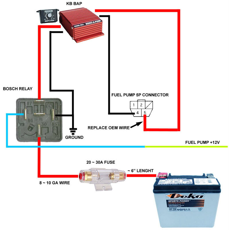 Corvette Fuel Pump Relay Wiring Diagram Wiring Diagram