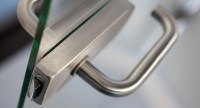 Stainless Steel Door Latch for Glass Doors with D-Shaped ...