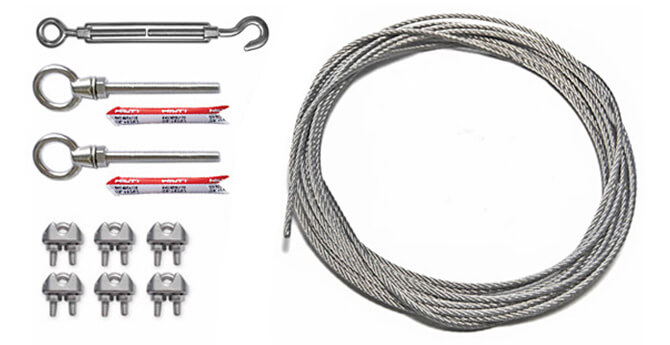 exterior wiring trough kits