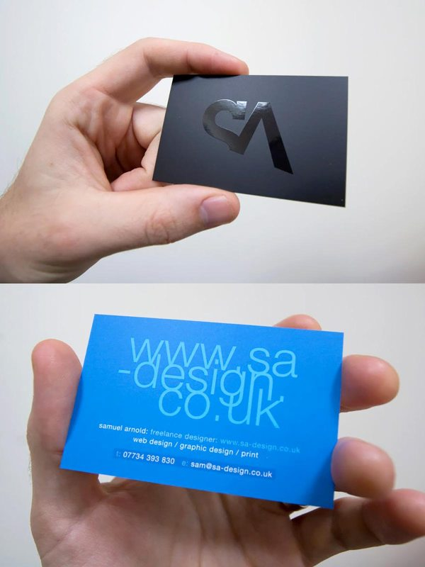 SA Design Business Cards