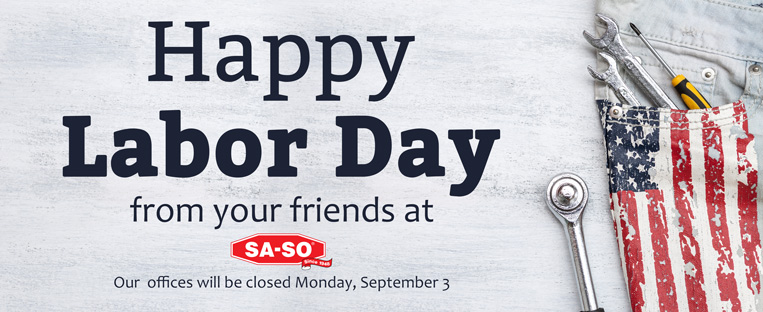 labor day closed signs templates