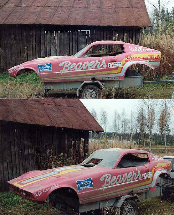 Saab Sonett Funny Car body for sale in Finland - Tommi's ...