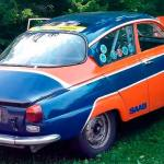 For Sale: 1969 Sab 96 race car with original rally history from the seventies.