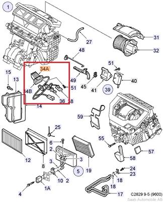 saab 9 5 3 0 Motor diagram