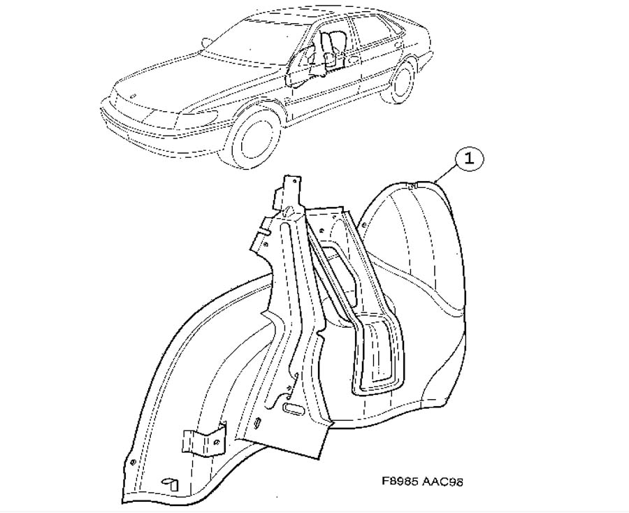 1998 Kia Sephia Wiring Diagram - Best Place to Find Wiring and