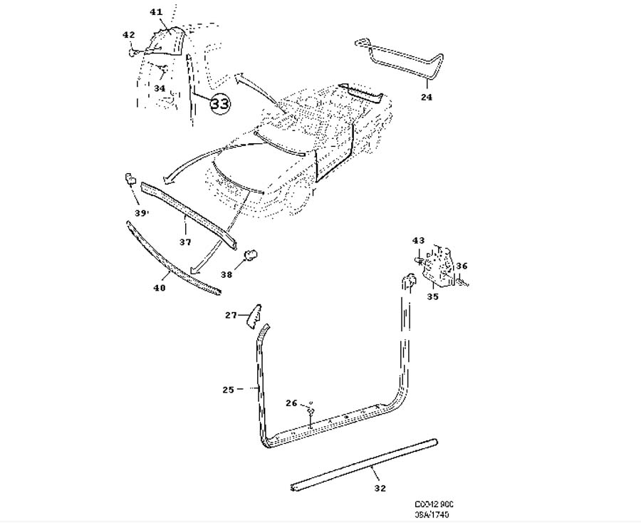 1995 Saab 900 Convertible Wiring Diagram - Best Place to Find Wiring