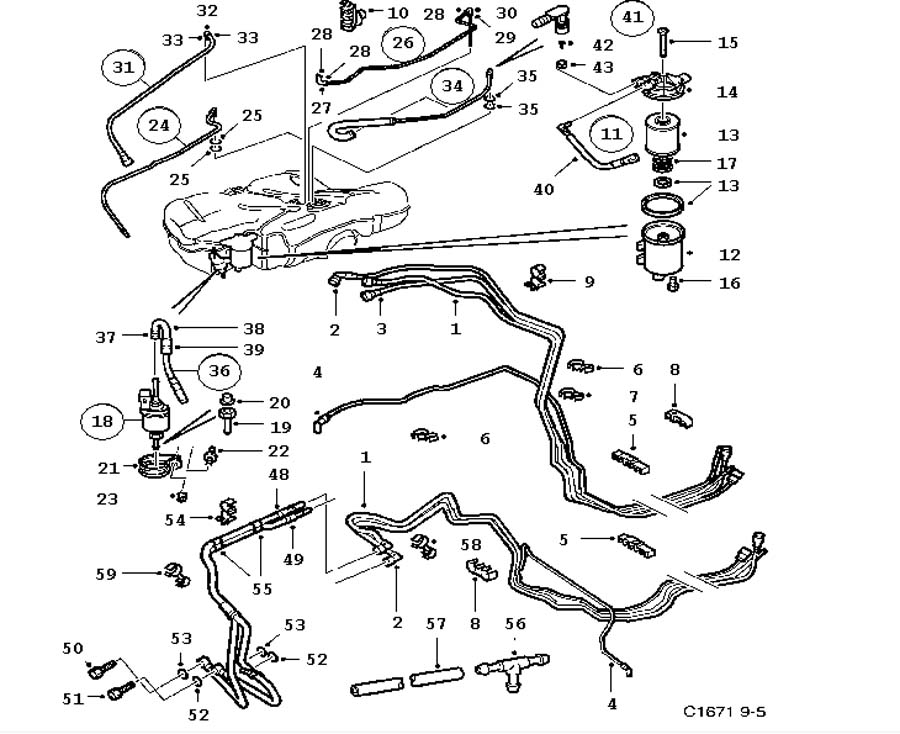 citroen 2cv engine diagram