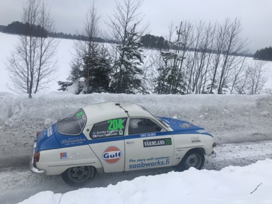 Special stage Hagfors