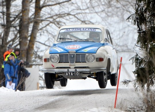 Rallysprint checkout before registration to Rally Sweden Historic