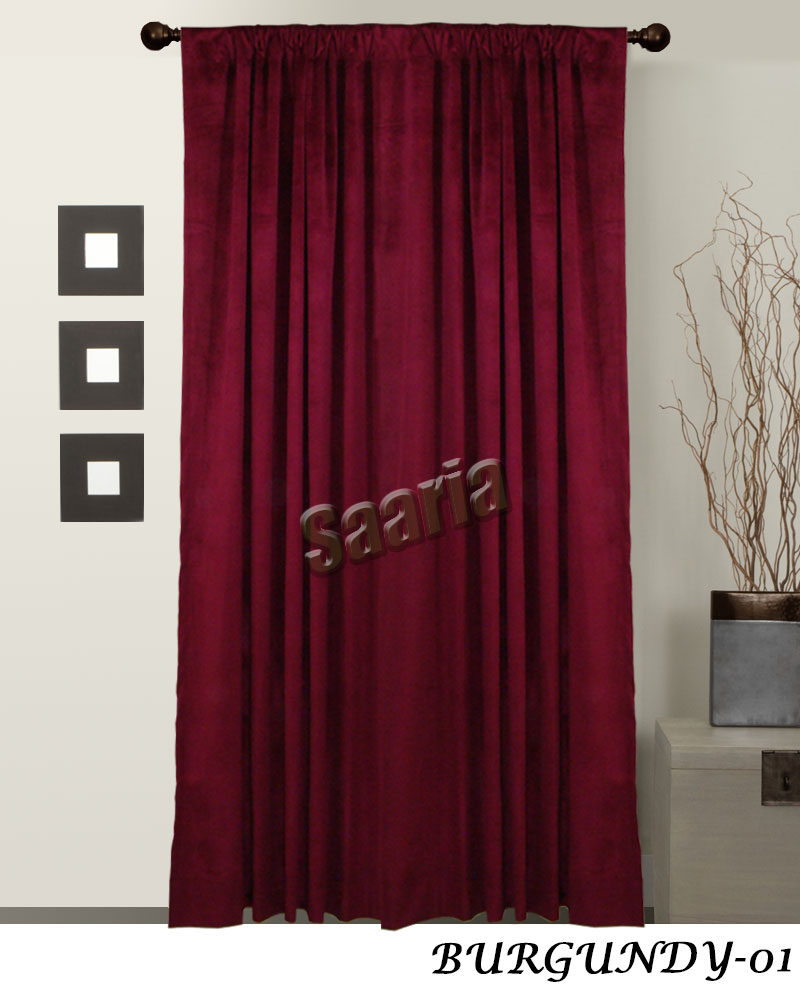 Decorative curtains church curtain grommet panels