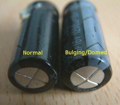 Identificando capacitor com defeito