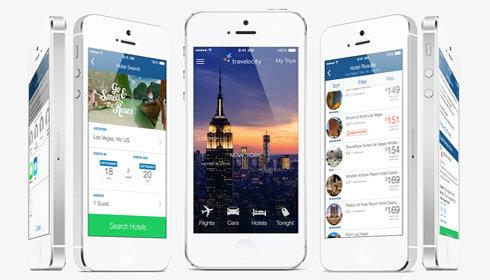 Travelocity unveils iOS 7 hotel booking app « Sabre