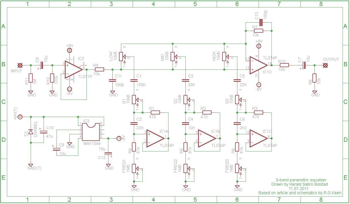 24 Band Equalizer Schematic Design Auto Electrical Wiring Diagram Ba3822 Stereo Graphic Circuit Diy Parametric Eq Page 2 Audio
