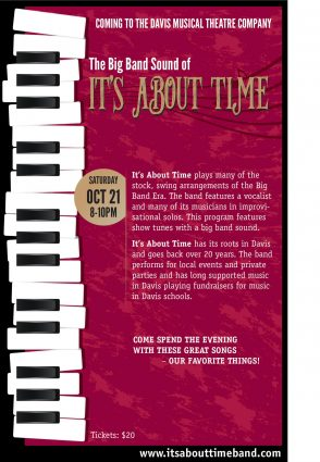 It\u0027s About Time Jazz Concert presented by Davis Musical Theatre